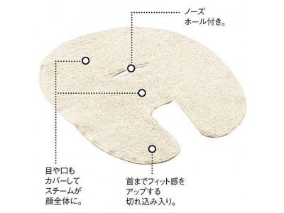 セシールより、今治産タオルを使ったフェイスマスクなどを発売