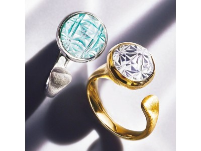 ディノスが、日本の伝統的な技術とモダンなデザインを融合させたデザインジュエリーを新発売