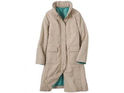 今年の冬は脱ダウン!木の実から生まれた中わた「カポック」を使用した、暖か&エコなコートを、セシールより新発売
