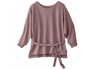 セシールが、大きいサイズのファッションブランド『プレミアム プランプ』より、オーガニックコットン×再生繊維セルロースをブレンドした、エコロジカル素材のアイテムを販売
