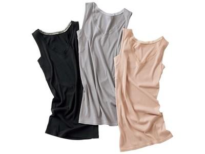 セシールが、着れば快適な体感温度に調節できるインナーを新発売