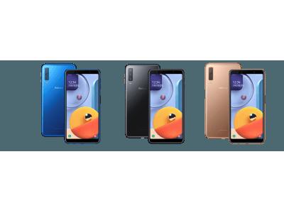 Galaxy シリーズ、楽天モバイルで取扱い開始! 「Galaxy A7」に加え、人気のフラッグシップモデル「Galaxy S10」の発売決定