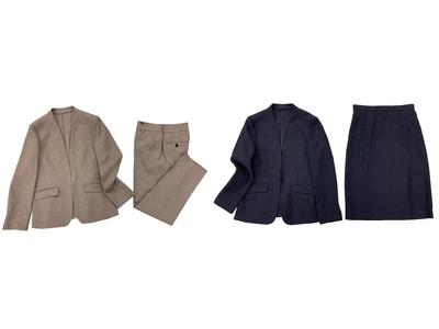 「Rashisa(ラシサ)」×はるやまに新作登場『麻調素材ジャケット、スカート、パンツ』『ブラックフォーマルアンサンブル』全国のはるやま店舗で展開開始