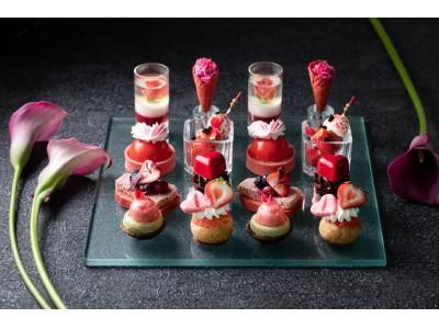 コンラッド東京、いちごとハートの贅沢なアンサンブル!令和初のバレンダインデーに向けて、ハートをモチーフにしたアイテムを日本のいちごやスイーツで表現「ストロベリー・スイートハート・アフタヌーンティー」