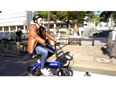 glafitがフルモデルチェンジした「ハイブリッドバイクGFR-02」を発表