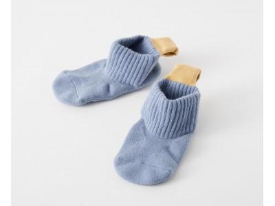 履きやすい!脱ぎやすい!みんなに優しい「足入れをしやすいループ付き靴下」に、冬素材が新登場!