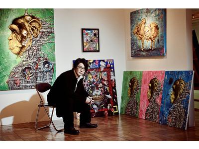 東方神起やチュンチュンとのコラボで注目されている現代美術家・笹田靖人が、大阪で初の展示会を開催!「観てくださった方とのコミュニケーションが次の作品への燃料」
