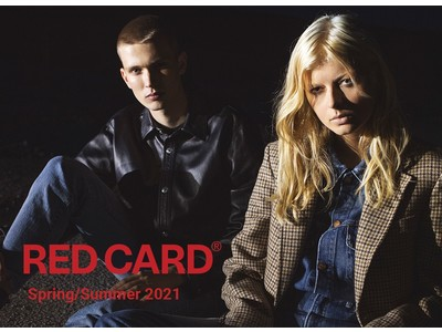 「RED CARD(レッドカード)」2021年春夏の最新LOOKは「70's Vintage」