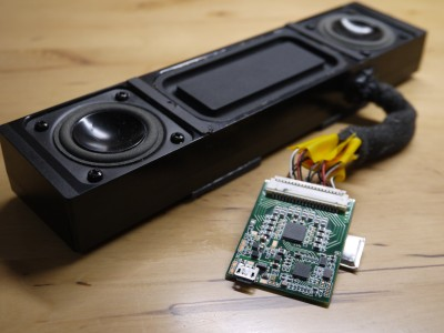 映像視聴に革命をもたらすUSBバスパワー方式デジタルスピーカー『OVO(オヴォ)』