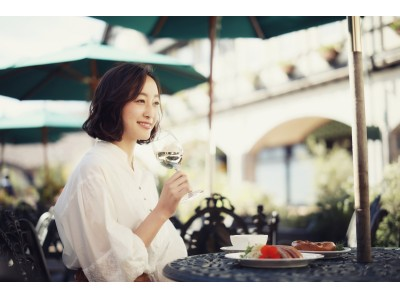 青空の下で、陽を感じ、風を感じ、優雅に!神戸布引ハーブ園で「GERMAN WINE FAIR」開催。スパークリングからデザートワインまで「これぞ本物のドイツワイン」9種が楽しめます。