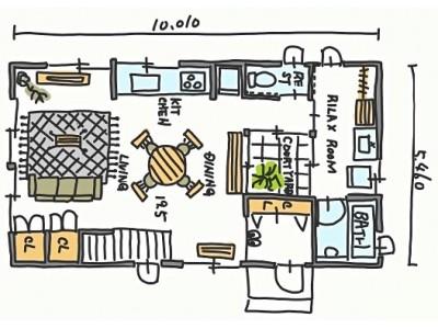 「妄想するだけで幸せ」手書き間取り図をVR内覧システム『ROOV』で体感!スタイルポート、インスタフォロワー5万人の人気住宅デザイナー、タブチキヨシ氏と夢のコラボ