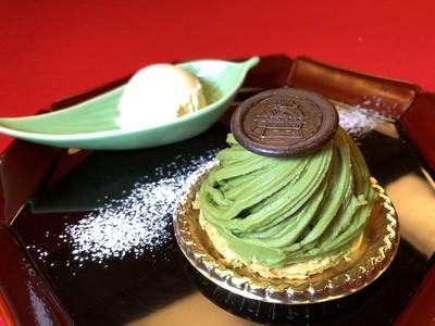 【ホテル長良川の郷】1日5個の数量限定販売!オリジナルケーキ「長良モンブラン」
