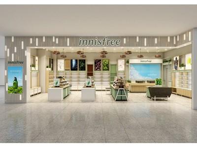 韓国・チェジュ島の自然の恵みから生まれたグローバル化粧品ブランド innisfree(イニスフリー) 11月20日(金)に『イニスフリー 心斎橋PARCO店』をオープン