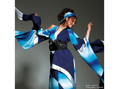 伝統と現代、そして未来へ。絹の着物生地を新たなカタチに再生する。【MANAKA】Re-KIMONO EXHIBITION西武渋谷店で開催。