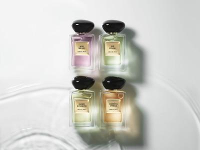 【本日発売】アルマーニ ビューティのラグジュアリーなフレグランス コレクションから花々や緑のみずみずしさを感じさせる新しい香りが登場