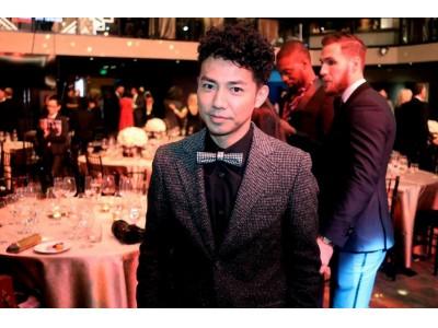 綾部祐二さんがハリウッドを代表する授賞式「ハミルトン  ビハインド・ザ・カメラアワード」にゲストとして参加