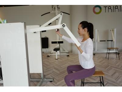 「機能回復ジム」を運営するトライリングス。「トライリングス仕様」のトレーニングマシンを秋田県大館市内の施設に導入。