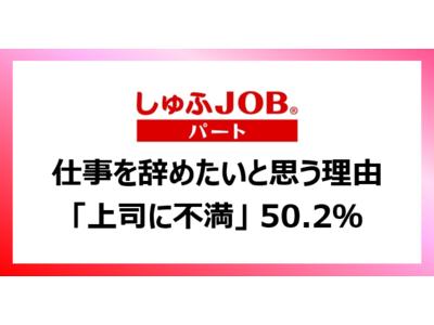 """【主婦層に聞く】就業中に""""もう辞めたい""""と思ったことがある 93.9% その理由は「上司に対して不満がある」50.2%"""