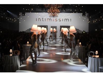 Intimissimi (インティミッシミ )が秋冬2019コレクションのランウェイショーを開催