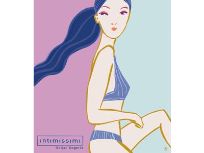 Intimissimi (インティミッシミ )のアートスペースにて プシェメク・ソブツキのアート作品を展示