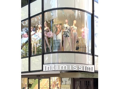 イタリアン ランジェリーブランド Intimissimi(インティミッシミ)表参道店がオープン