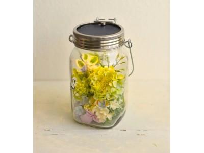 おうち時間に花と光を。簡単にソネングラスをデコレーションできるフラワーキット Decorate At Home キャンペーン