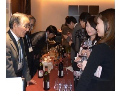 銀座・第2回「いばらきワインにふれる会」 ゲスト:辰巳琢郎氏(主催:いばらきワイン産業連絡協議会)11月1日開催。
