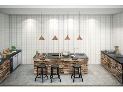 全長約8m以上の超開放的なキッチンで、みんなで作って食べるを楽しむ、海のグランピング。千葉県南房総市千倉に、2018年6月オープン予定「 Chikuraumi basecamp」
