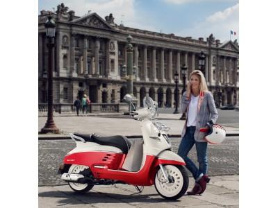 フランスの名門「プジョースクーター」ニューモデルの予約受注を開始
