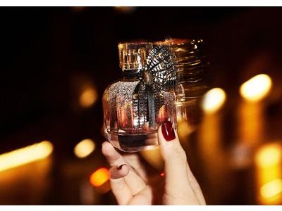YSL 人気フレグランス『モン パリ』から夜の煌きを閉じ込めた、コンテンポラリーな限定デザイン ボトルが登場。