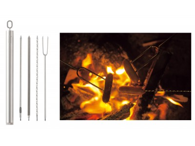 これさえあればスキュア料理の達人!スリム収納のスキュアセット「スキュアマスター」新発売!
