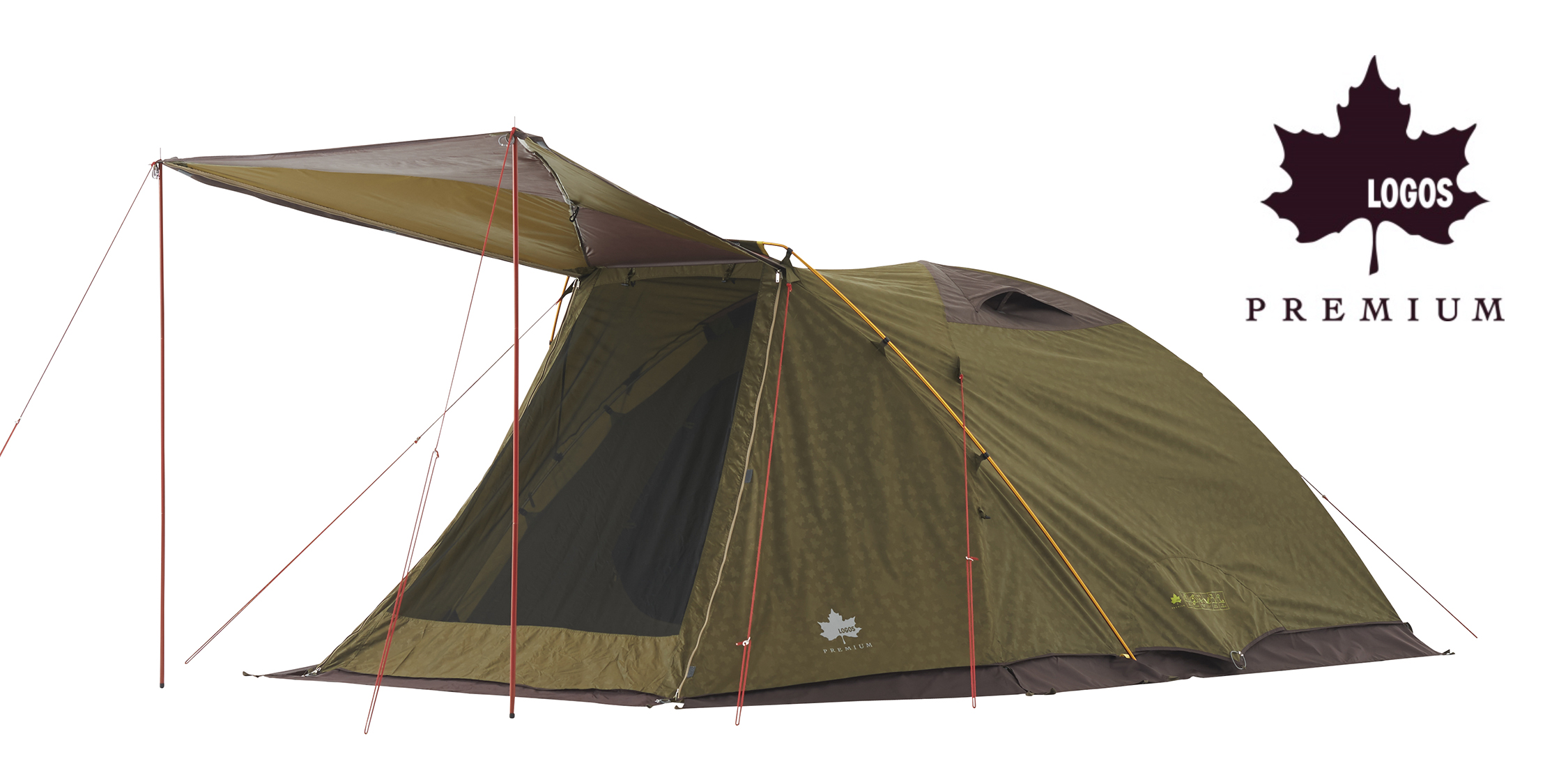 プレミアムシリーズにシンプル構造で組立てやすいシングルドームテントが