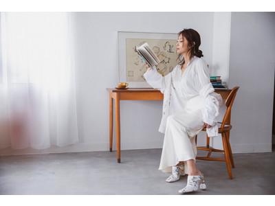女優として活躍するMEGUMI氏が下着の楽しみ方を提案。MEGUMI氏と適正下着(R)メーカーHEAVEN Japanによるコラボレーションシューティングが実現。