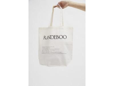 RANDEBOOとby ensureが最大70%OFF!表参道にて2日間限定のポップアップ&シークレットセールを開催!