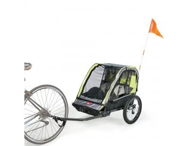 子供と一緒にサイクリングを楽しめる!チャイルドトレーラーの販売開始キャンペーンがスタート