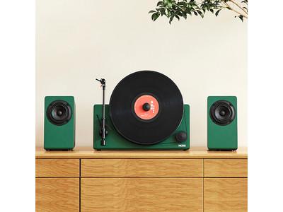 ★新商品★「MORE」バーティカルレコードプレーヤー【独立型スピーカー・Bluetooth対応】をGLOTURE.JPで販売開始