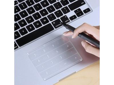 MacBookとSurfaceのトラックパッドを手軽にパワーアップ! 入力作業が楽になる「Nums」を自社ECで販売開始