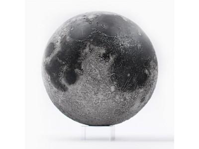 直径120mm、1.3kgの圧倒的な存在感。スマホをかざすと月に関するあらゆる情報が浮かぶAR技術対応の「LUNAR Pro」を自社ECで販売開始