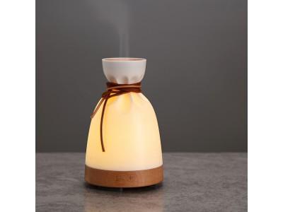 アンビエント照明でリラックス。お肌や喉のケアに最適な加湿機能付きの「Bottle」ランプを自社ECで販売開始