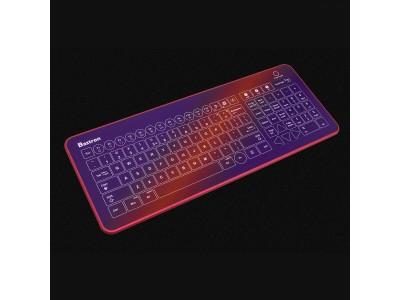 近未来なガラス製デザイン、ワイヤレス対応ハイエンドキーボード「Bastron B11」を自社ECで販売開始