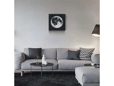 幻想的な月明かりと拡張現実が融合したハイテク・インテリア商品「Nightlight Moon Frame」をGLOTURE.JPで販売開始