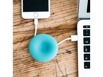 ケーブルや小物をスマートに収納! 便利な吸盤付きでカラフルなデザインの「Cable POD」をGLOTURE.JPで販売開始