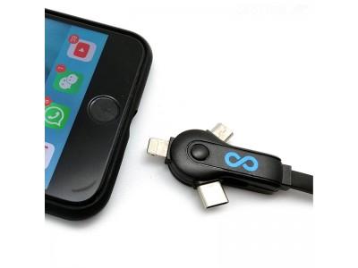 これ一本でLightning、USB-C、Micro USBに対応! 急速充電可能な「Moovy 3-in-1 ユニバーサルケーブル」をGLOTURE.JPで販売開始