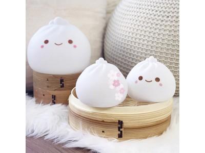 【限定色Sakuraが登場!】7色に光る!SMOKO製キュートな見た目に癒やされる「小籠包ランプ」をGLOTURE.JPで好評販売中
