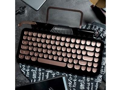 【人気品薄商品】タイプライター風レトロデザインと先進技術が融合!モバイルキーボード Vinpok「Rymek」を再入荷!