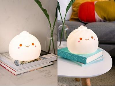 【再入荷決定!】「小籠包ランプ」7色に光る!SMOKO製キュートな見た目の癒し系ランプ!【人気品薄商品】