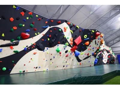 2019年3月、二つの新規コンテンツで更にパワーアップ!!昨年3月、千葉県千葉市に誕生したスポーツ複合施設「晴れのち晴れ」にボルダリングとBBQ設備の導入決定!