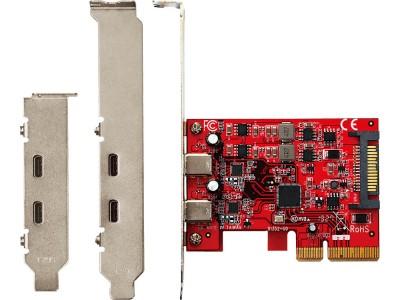 PCパーツブランド「玄人志向」から、USB3.2 Type-C 2ポート搭載したインターフェースボード発売