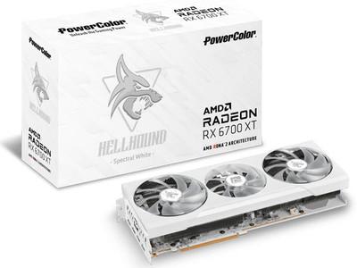 PowerColor製 Radeon RX 6700 XT 搭載 グラフィックボード 発売
