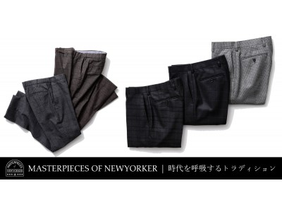 ニューヨーカー メンズ「MASTERPIECES of NEWYORKER」を…